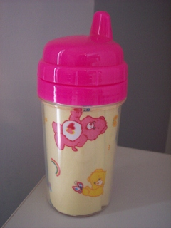 Care Bears Sippy Cup-Yellow