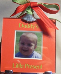 Daddy's  Photo Ornament