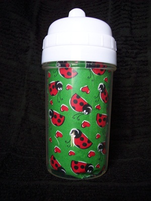 Green Ladybug Sippy Cup
