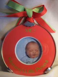 Mommy Photo Ornament