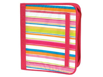 3 Ring Zip Binder