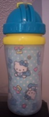 Kitty Aqua Sippy Cup