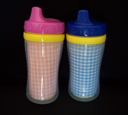 Gingham Sippy Cup