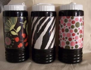 Monogrammed Sports Water Bottle