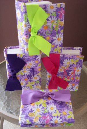 Purple Daisy  Monogrammed Photo Album